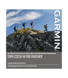 Garmin Topo Czech V4 PRO VOUCHER