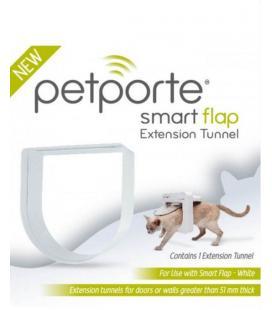 Tunel pro dvířka PetPorte, bílý