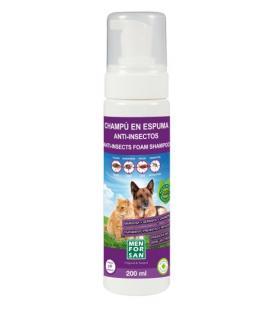 Menforsan repelentní pěnový šampon pro psy a kočky s margosou 200ml
