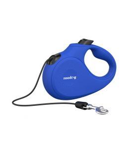 Reedog Senza Basic samonavíjecí vodítko S 12kg / 5m lanko / modré