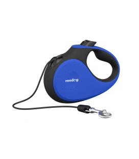 Reedog Senza Premium samonavíjecí vodítko S 12kg / 5m lanko / modré